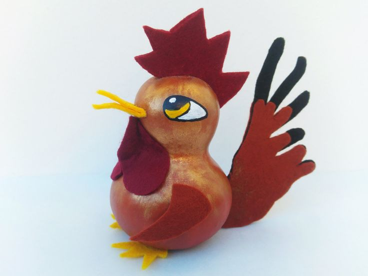 Rooster Decor, Rooster Kitchen Decor, Rooster Figure, Collectible Rooster, Rooster Decoration, Rooster Art, Rooster Figurine by ClumsyDesign on Etsy