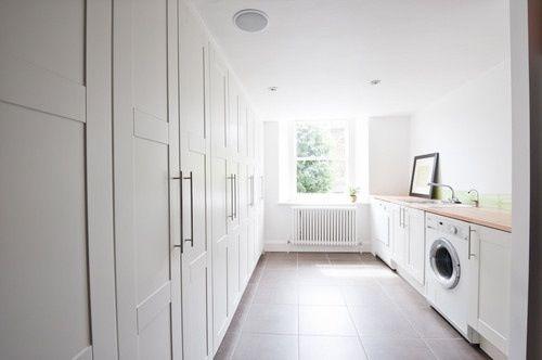 beautiful spacious laundry