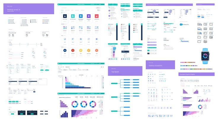 Salesforce analytics ui kit large
