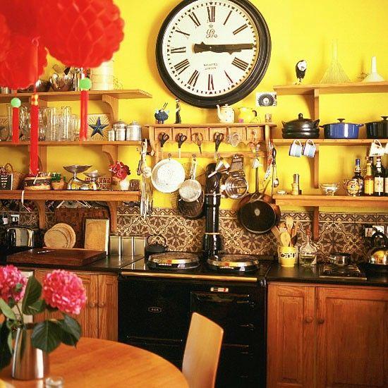 49 best Wohnen images on Pinterest Live, Architecture and Kitchen - küchen wanduhren design