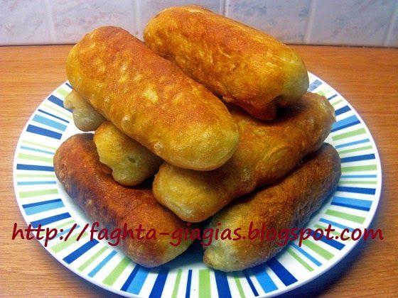 Ποντιακά πιροσκί (περεσκία) με πατάτα ή Πισία - Τα φαγητά της γιαγιάς