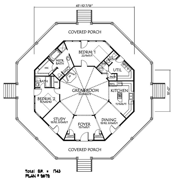 This is kind of close open up the walls for the dining for One of a kind house plans
