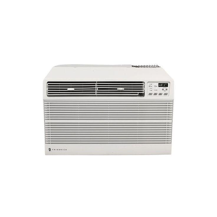 Friedrich UE08D11C 8000 BTU 115V Through the Wall Air Conditioner with 3850 BTU White Air Conditioners Through Wall Cooler And Heater