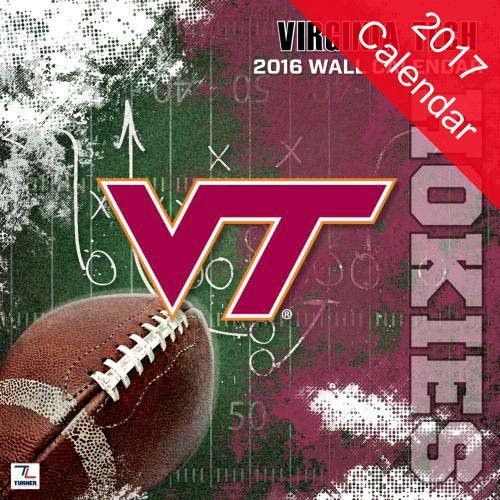 Virginia Tech Hokies 2017 Calendar