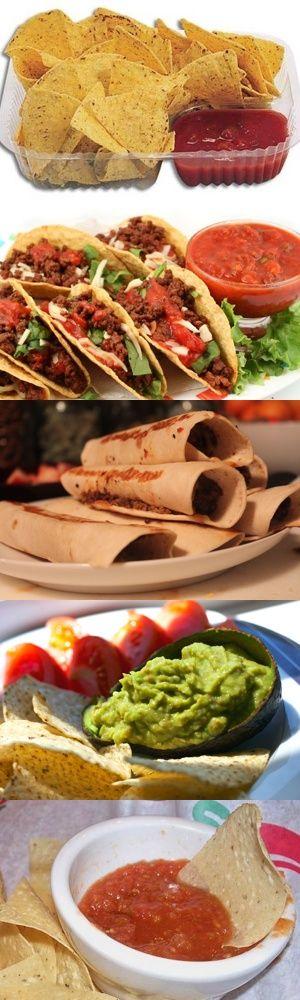 Tortillas, Tacos, Burritos, Salsa Guacamole e Salsa Chili: cinque gustose ricette tipiche della cucina messicana