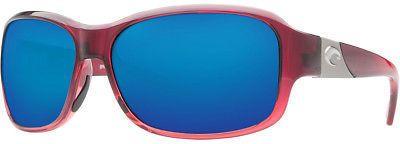 Costa Inlet 580G Sunglasses - Polarized - Women's PomegranateFade/Blue Mirror