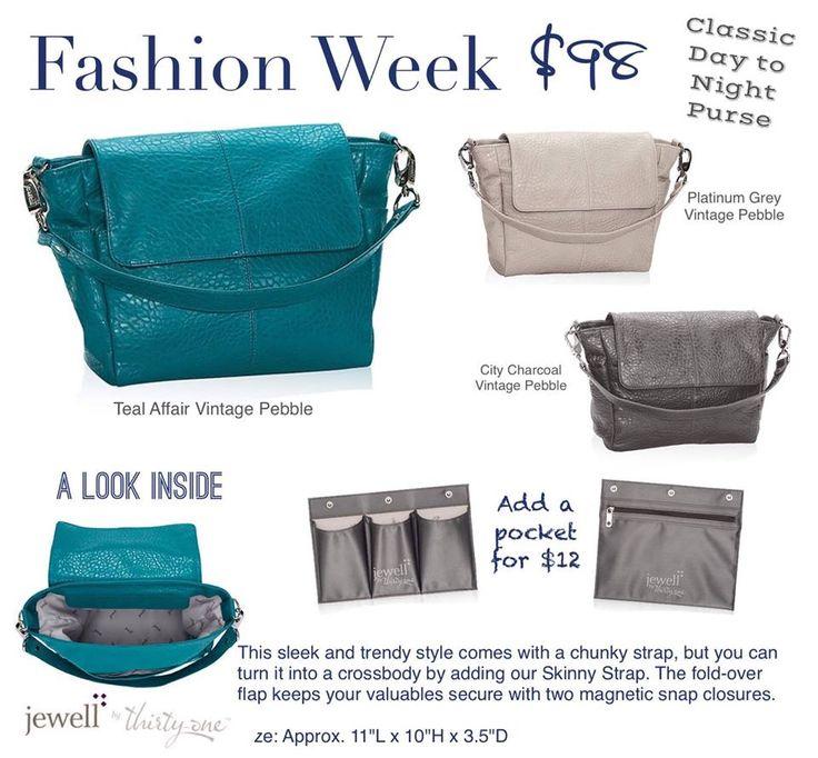 Thirty One Teal Affair Fashion Week