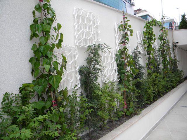 Wall-Y® - Yeşil Duvarlar İçin Estetik Bitkilendirme Izgarası
