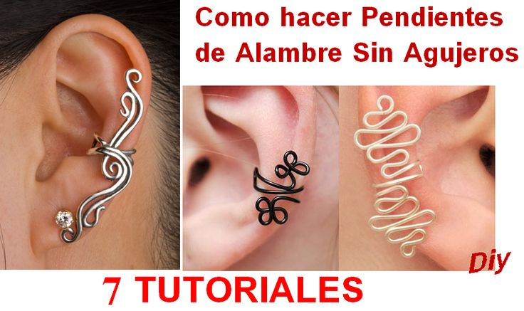 Ear cuff picture tutorials