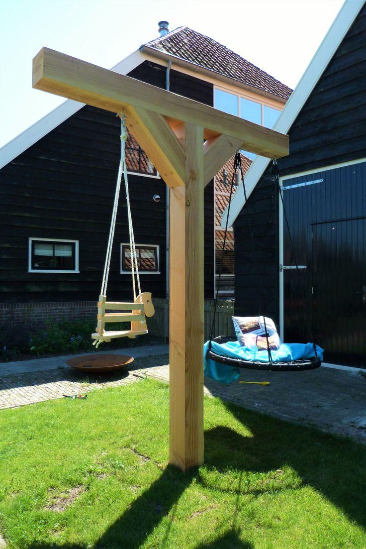 17 beste idee n over tuin schommels op pinterest boom schommels yard swing en achtertuin - Bank voor pergola ...