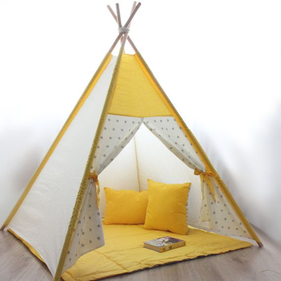 vert tipi pomme tipi enfants jouer tente tipi. Black Bedroom Furniture Sets. Home Design Ideas