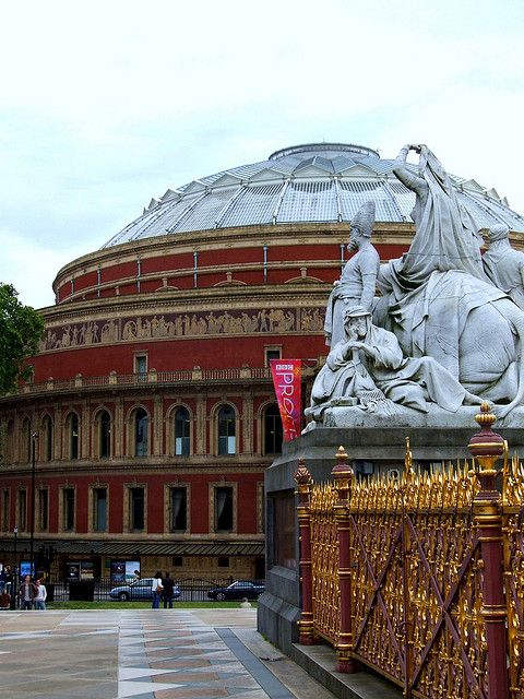 Royal Albert Hall ,London seen  many concerts here from Eric Clapton, Le Mis 10th Anniversary, Tchakowsky 18... and more...