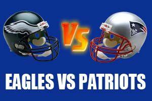 Philadelphia Eagles vs New England Patriots Live Streaming