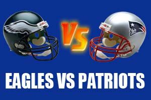 Philadelphia Eagles vs New England Patriots Live Streaming