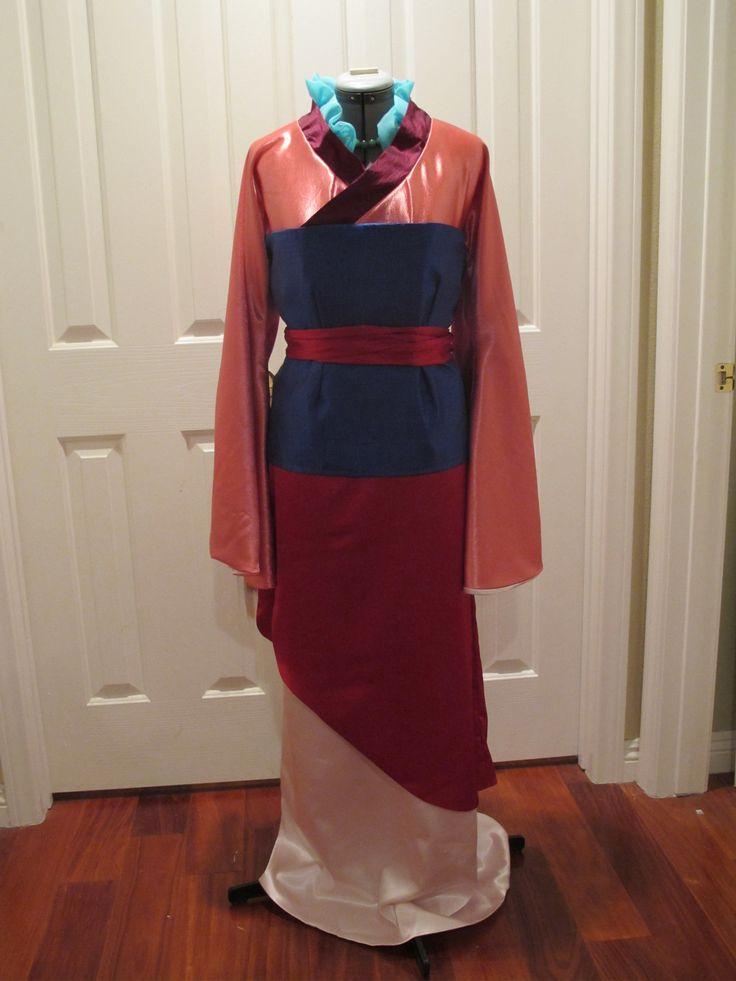 Mulan Matchmaker Dress Cosplay Mulan progress for Comic ...
