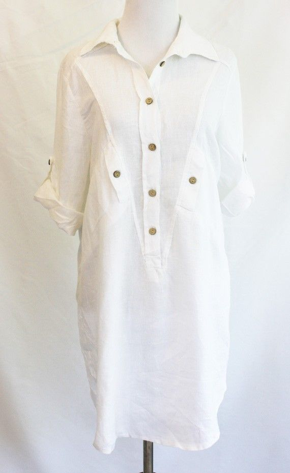 White Silk Blouse Long Sleeve