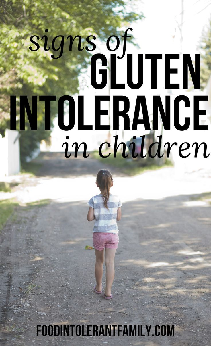 One of the biggest symptoms of gluten intolerance in children is behavioral…