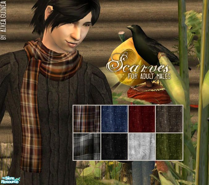 aikea_guinea's Scarves for Adult Males