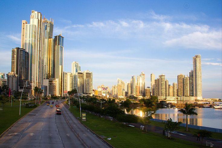 Skyline Panama-Stadt