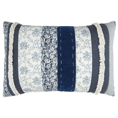 Denim Decorative Pillow Vintage