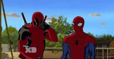 spideypool | spideypool #deadpool #spiderman #wade wilson #peter parker #fucking ...