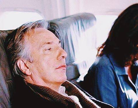 "2007 - Alan Rickman as Eli Michaelson in ""Nobel Son."""