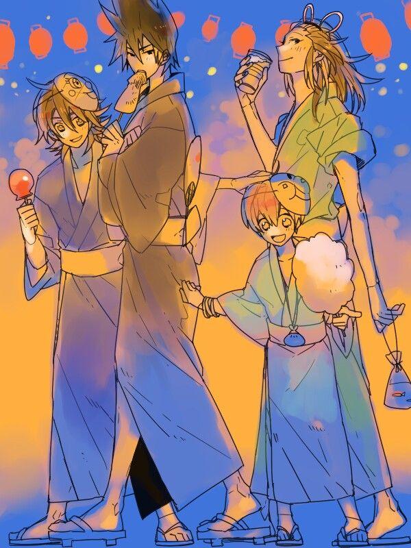 The Eccentric Family | Utochen Kazoku anime art