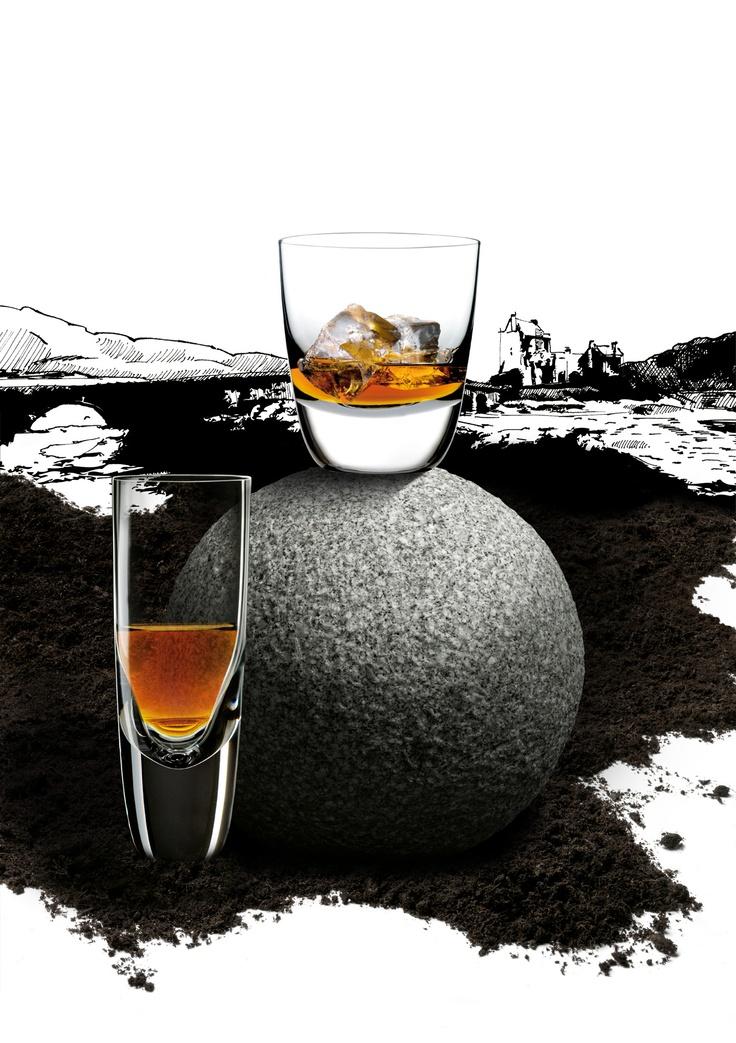 American Bar pro konzumaci Whisky po americku - s ledem a sodou