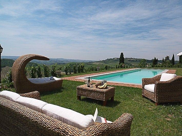 Villa Eden outdoor area - Tuscany