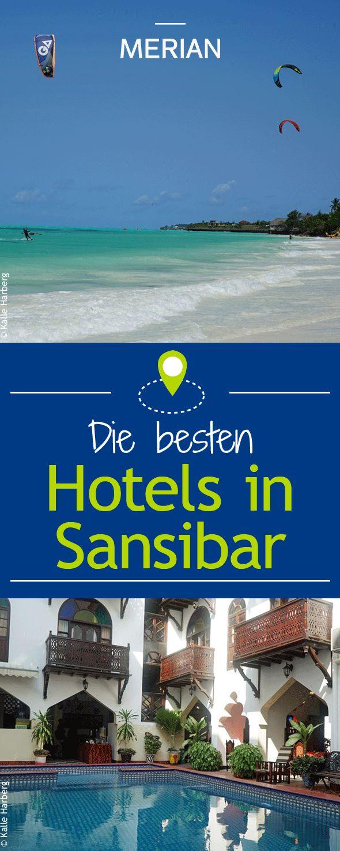 Außergewöhnliche Hotels auf Sansibar