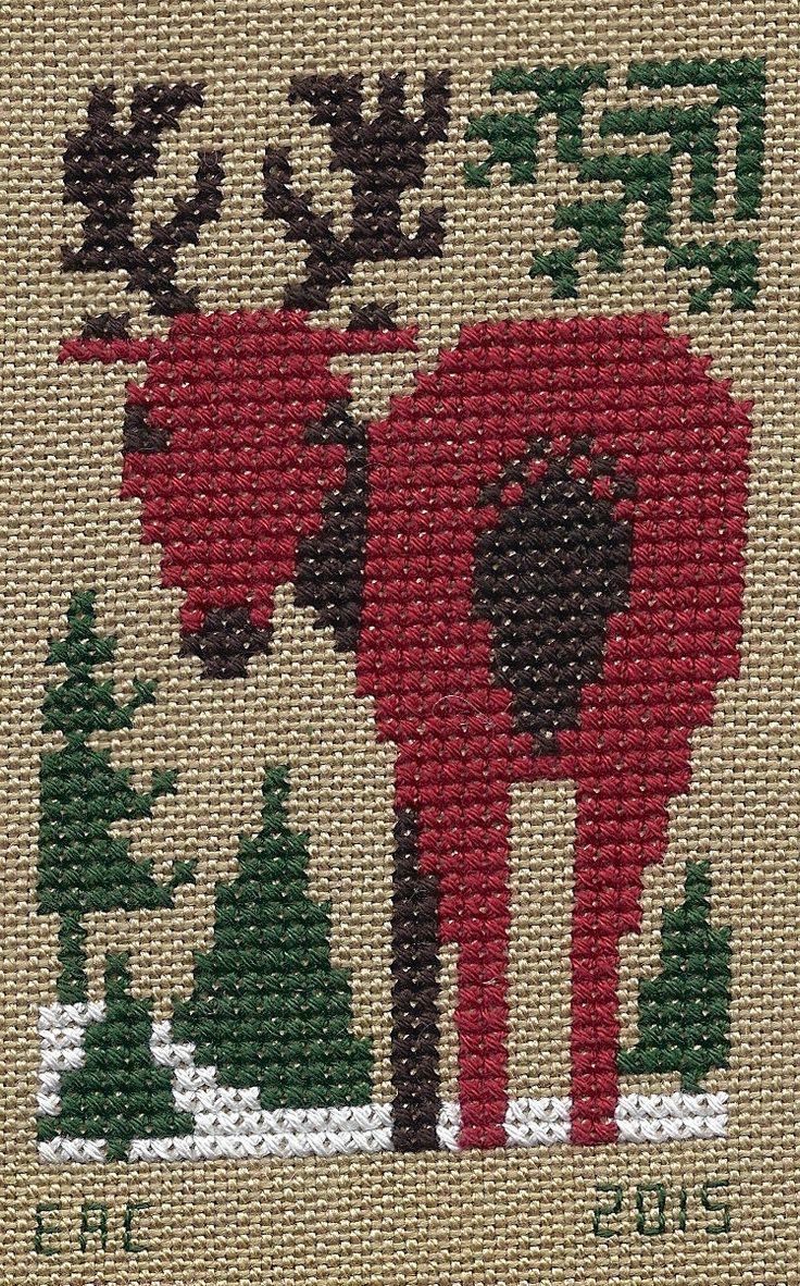 The+Prairie+Schooler%2C+Evergreen%2C+Red+Reindeer+II.jpg 748×1,202 pixels