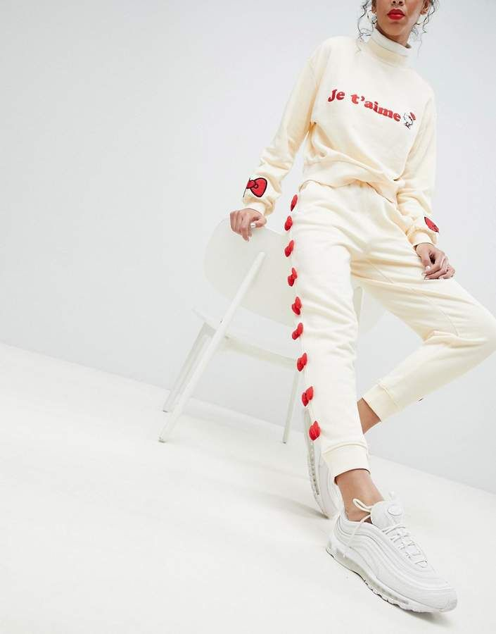 91dffc001 Hello Kitty x ASOS Bow Joggers With Peeping Motif | Hello Kitty So ...