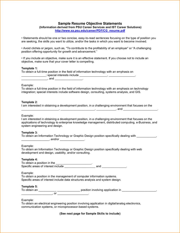 Fields Related Computer System Engineer Examples Resumes Sample Resume For  Administrator Admin Objectives Effective Objective Statements  Effective Resume Examples