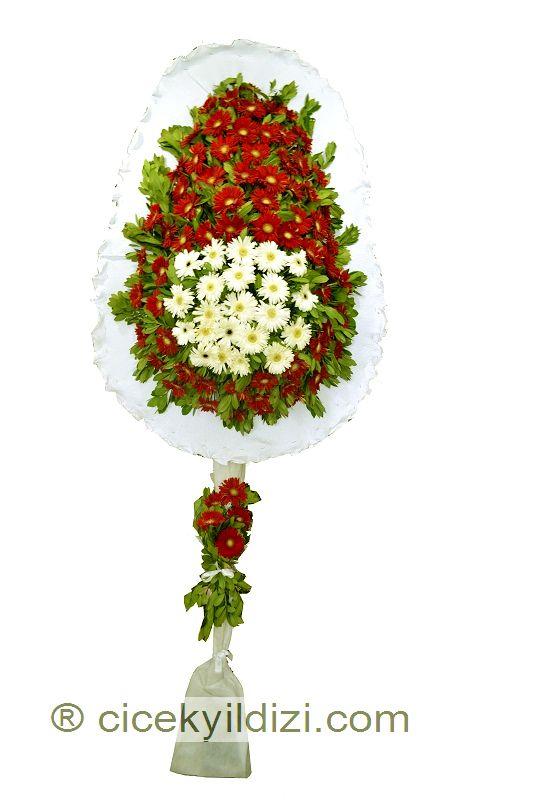Kırmızı Beyaz  Ayaklı Sepet  https://www.cicekyildizi.com/acilis-nikah