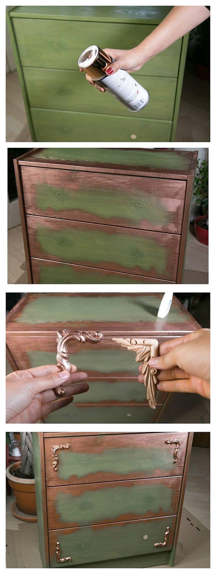 Used Look Möbel selber machen – kreativ und individuell Möbel umgestalten * Anleitung *
