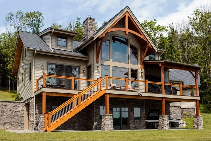 66 Best Timber Frame Home Exteriors Images On Pinterest