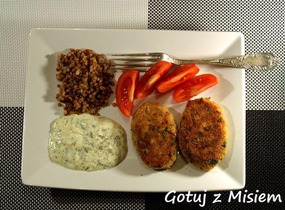 pulpety rybne i sos koperkowy