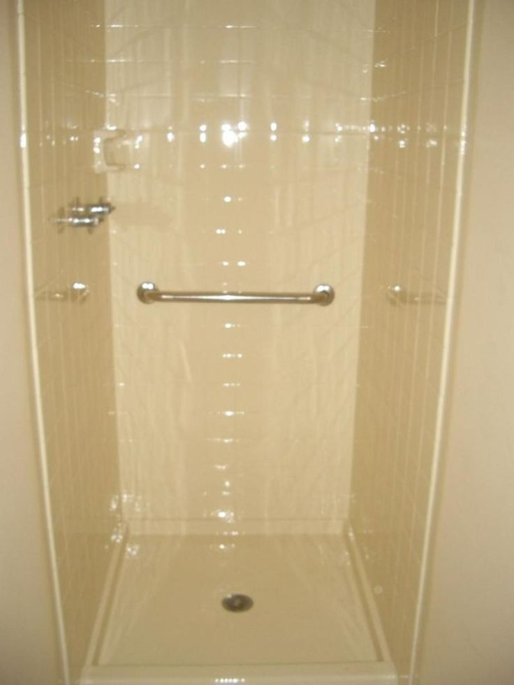 25 best ideas about fiberglass shower stalls on pinterest for Small bathroom ideas with shower stall
