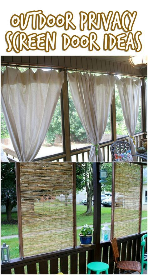 55 Ideas Apartment Patio Shade Front Porches (With images ...