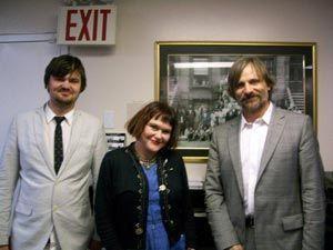 Henry, Exene et Viggo au Jazz Museum. (Mai 2010)