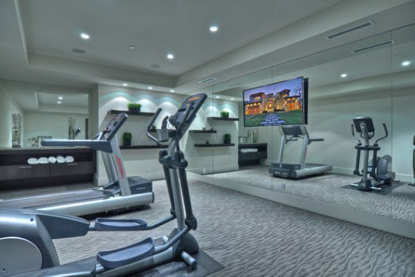 Decorating A Home Gym In A Contemporary Style