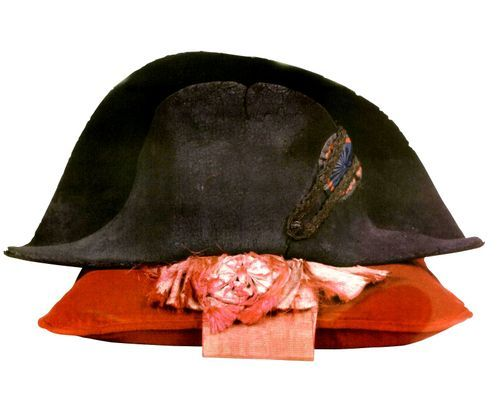 Napoleon's Summer Bicorn Hat & Legion of Honour Sash. Worn during the Battle at Essling in 1809. Circa 1805.