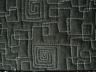 Deborah Louie Domestic Machine Quilting Tutor: A new free motion quilting sample quilt