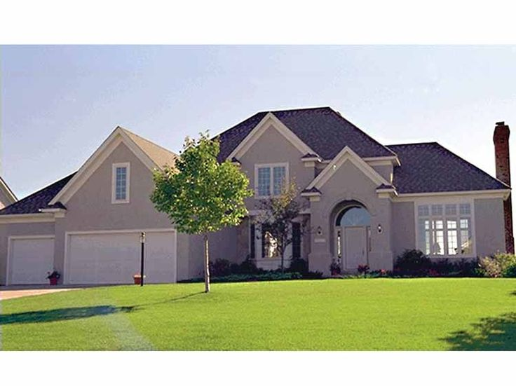 Eplans New American House Plan   Three Bedroom New American   2490 Square  Feet And 3