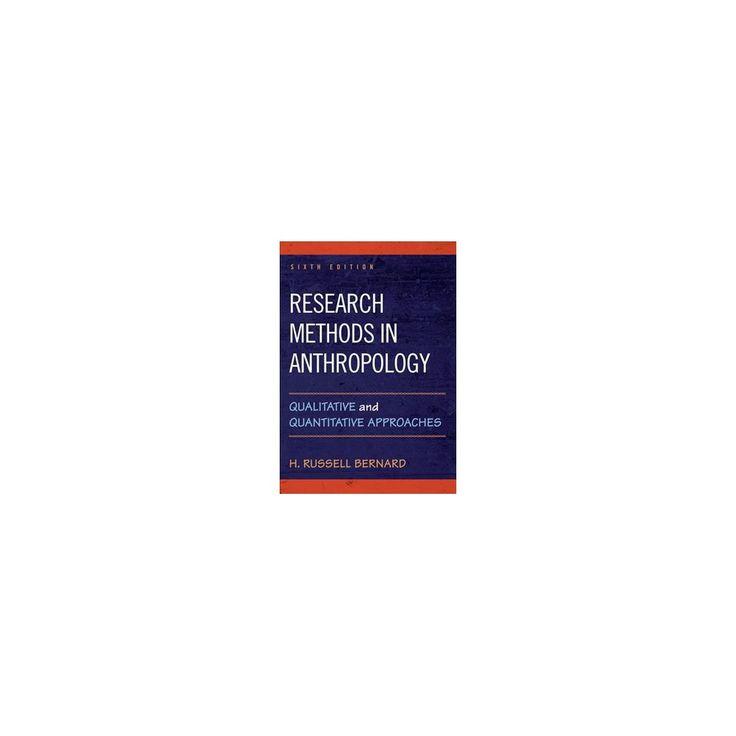 social research methods qualitative and quantitative approaches bernard pdf