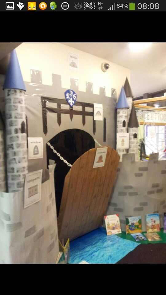 Knights and Castles school theme.