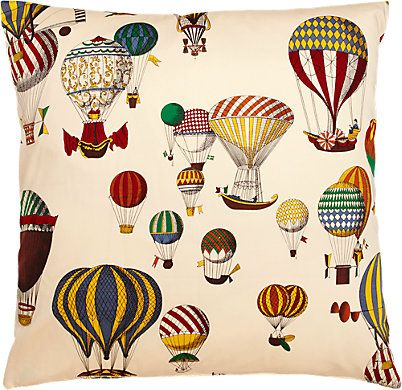 Fabric Design Balloons Pillow - - Barneys.com