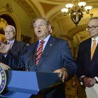 U.S. Sens. Robert Menendez and Charles Schumer today pledged to fight for Hurricane Sandy aid for New Jersey and New York. The federal government is considering creating a national competition for up to $2 billion of the remaining aid.