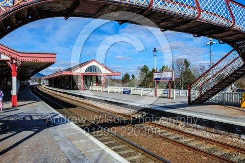 Aviemore railway station serves the town and tourist resort of Aviemore in the Highlands of Scotland.