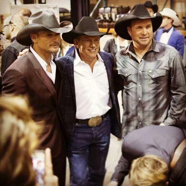 George, Garth and Tim